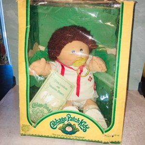 VTG 80s Cabbage patch in box Coleco CLYDE DAN